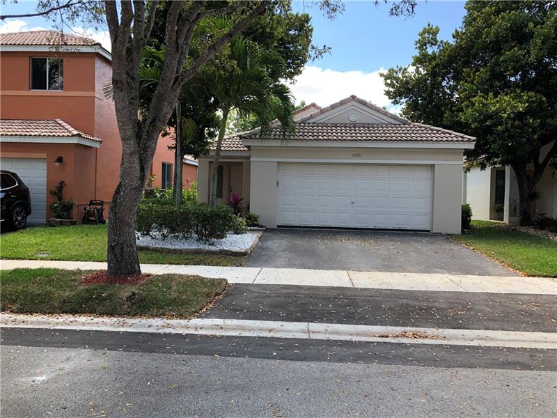 RENTAL  4288 GREENBRIAR LANE, WESTON, FL
